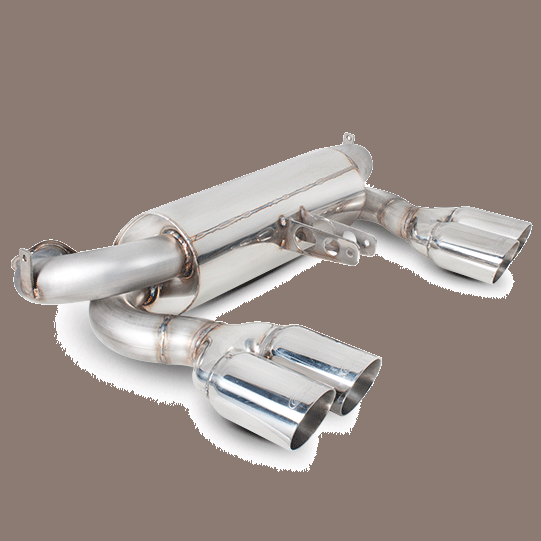 Scorpion Half-System Exhaust BMW M3 [E90/92/93] Stainless Steel
