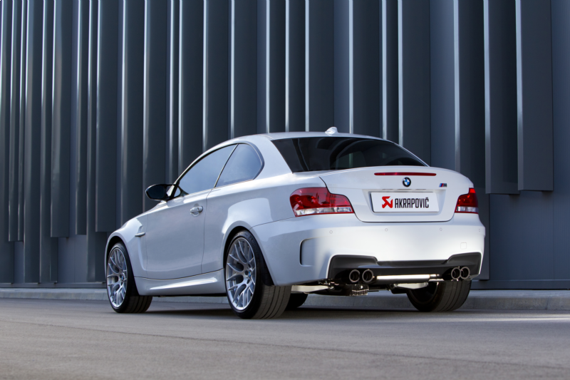 Akrapovic Slip-On Line Titanium Exhaust - BMW 1 Series (M Coupe)