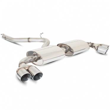 Scorpion Cat-Back Exhaust Audi TT S & V6 2008> Stainless Steel