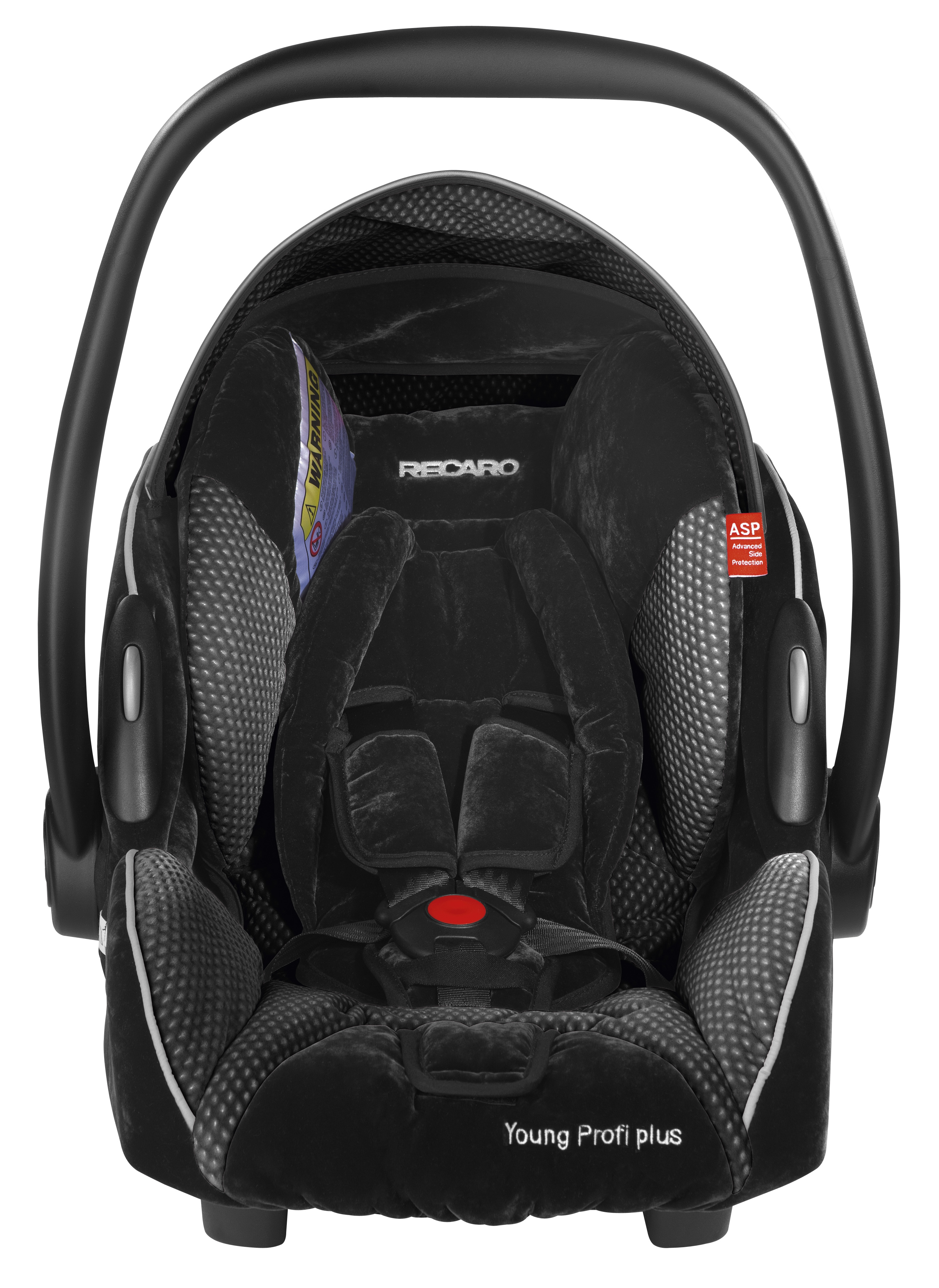 Recaro Young Profi Plus Infant Carrier Group 0/0+ [Microfibre Black]