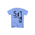 Dub and Co Super.5 Hatch Powder Blue T Shirt