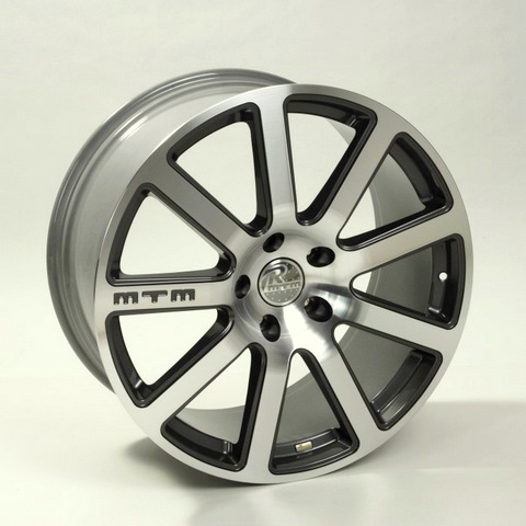 MTM Bimoto 19inch alloy wheels with Dunlop tyres